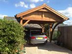 carport with an arch 3.5x5m